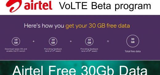 Airtel VoLTE Beta