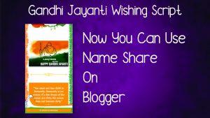 Gandhi Jayanti Viral Script