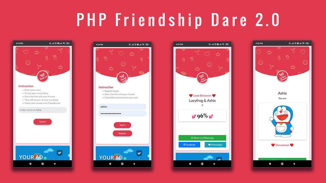 Php Friendship dare.2.0